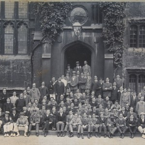 Exeter College 1908.  (Tall one RH back!).