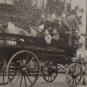 An outing to Longleat - Downside 1902
