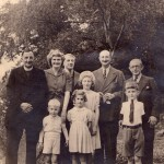 The brothers - Summer 1946 - Fr Ambrose, Arthur, Alfred & Edgar