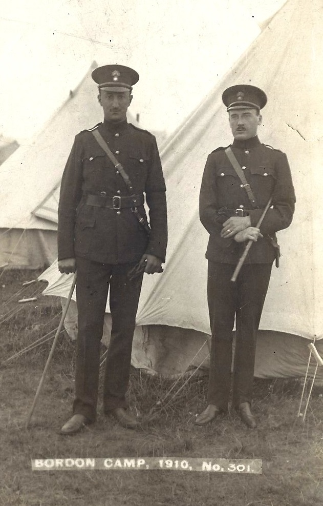 Bordon Camp 1910