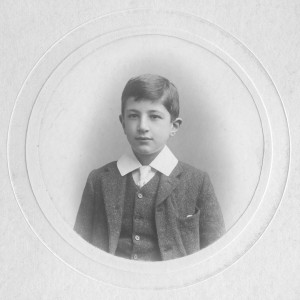 Arthur at Downside School 1903