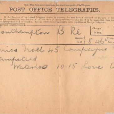 18th October 1916