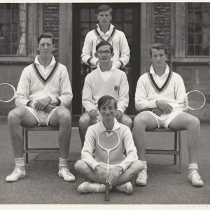 Downside 1st V about 5 years later 'plus ca change!                          Standing: Barrington                           Seated: Mellotte, Moorsom, Borg                          Ground:  ?Murphy