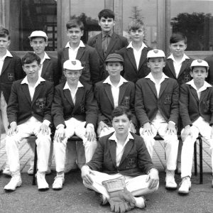 1st XI Cricket 1966