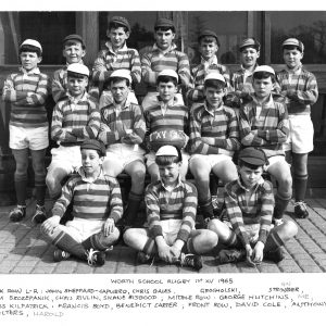 1st XV Rugby 1965
