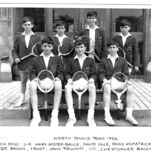 Tennis Team 1966