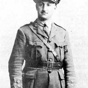Major Alfred Agius MC