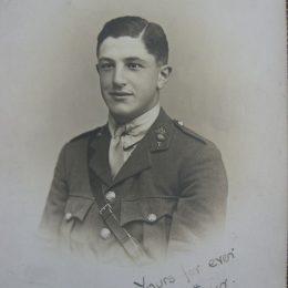 Captain Arthur Agius MC