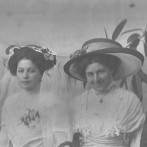 Maggie Samut and Daisy Agius - Nov 1909