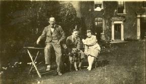 Birmingham 1926; Fritz, Sharlie Bendall, Ken Eccles.