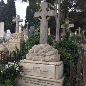 Grave in Addolorata Cemetery, Malta